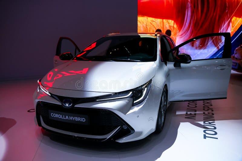 Toyota corolla zdjęcia stock