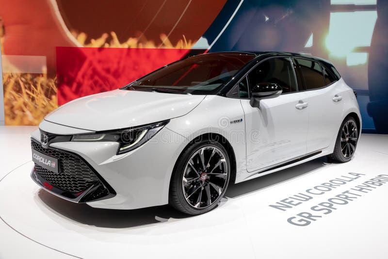 Toyota Corolla GR sportbil royaltyfria foton