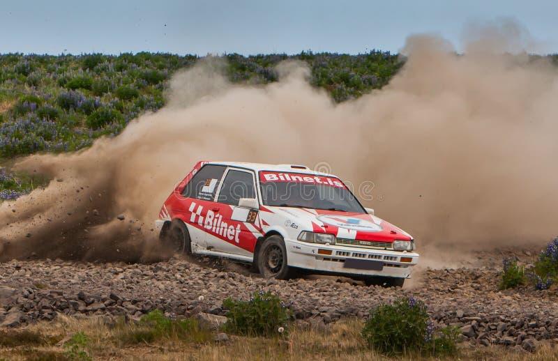 Toyota Corolla GTI Rallycar fotos de stock