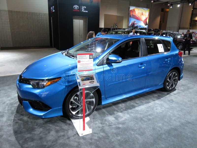 Toyota Corolla IM stock images