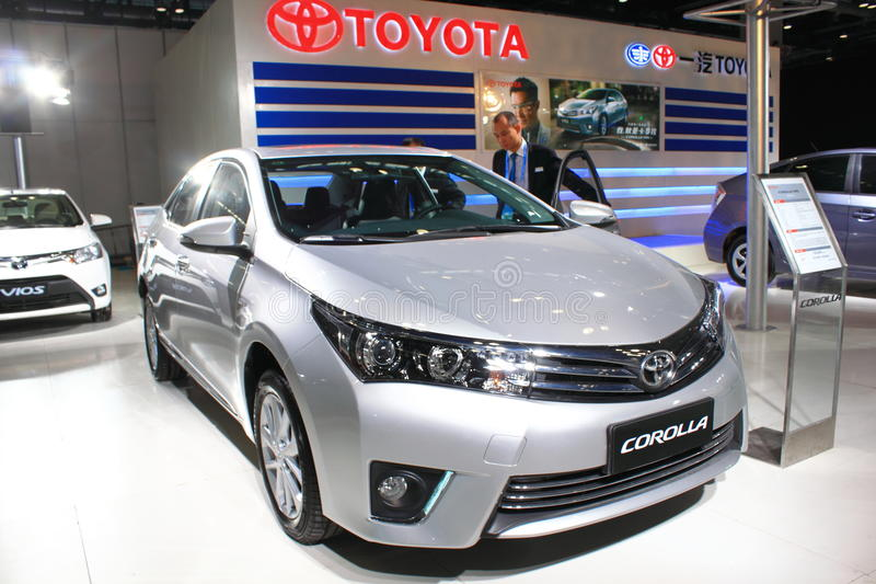 Toyota Corolla 1 8L GLX-i fotos de stock