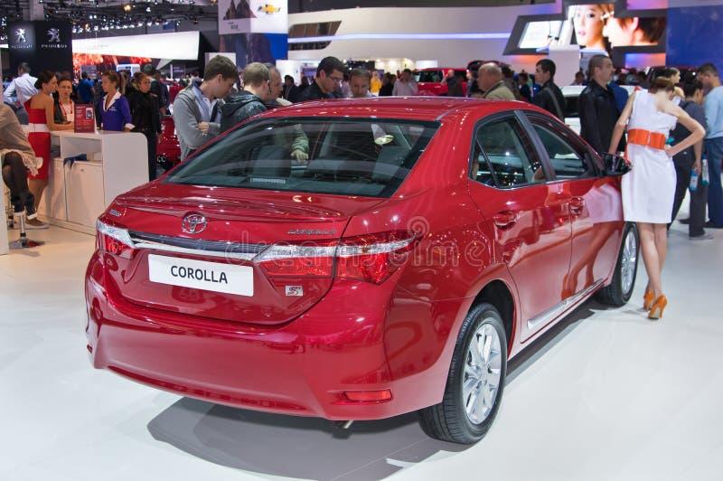 Toyota Corolla stock photos