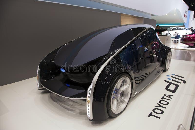 Toyota Diji Concept car royalty free stock photo