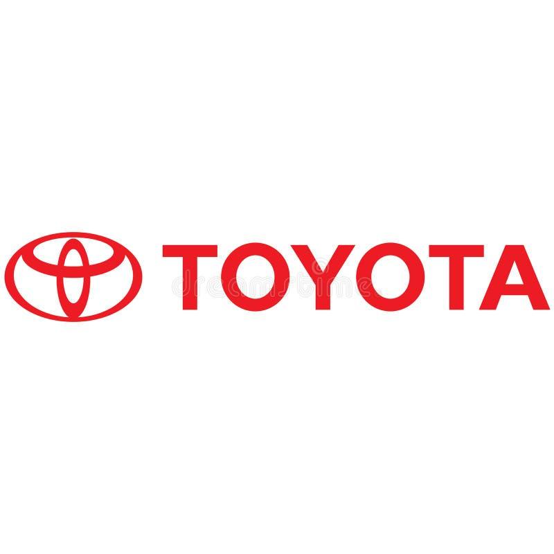 Toyota-embleempictogram vector illustratie