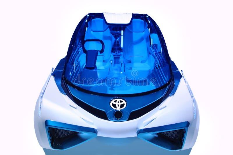 Toyota FCV più immagine stock libera da diritti
