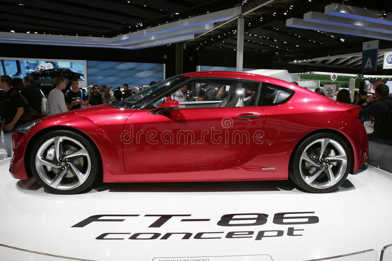 Download Toyota ft 86 concept car editorial image. Image of auto - 16314765