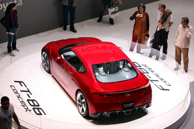Toyota FT-86 Concept at Motor Show 2010, Geneva
