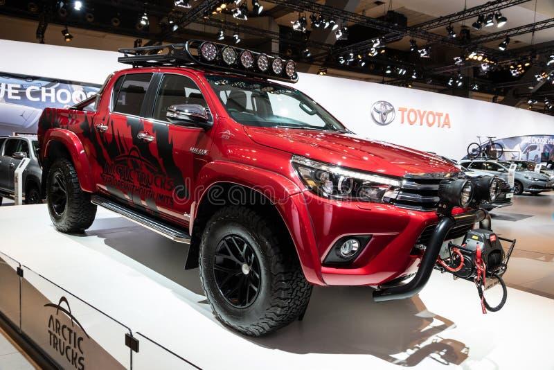 Toyota Hilux stock afbeeldingen