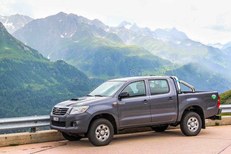 Toyota Hilux stockbild