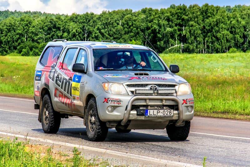 Toyota Hilux fotografía de archivo libre de regalías
