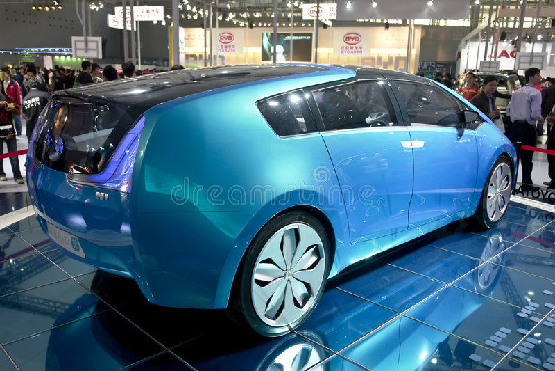 Toyota Hybrid Editorial Photography