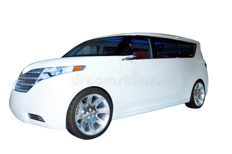 Toyota Hybrid Concept SUV stock images