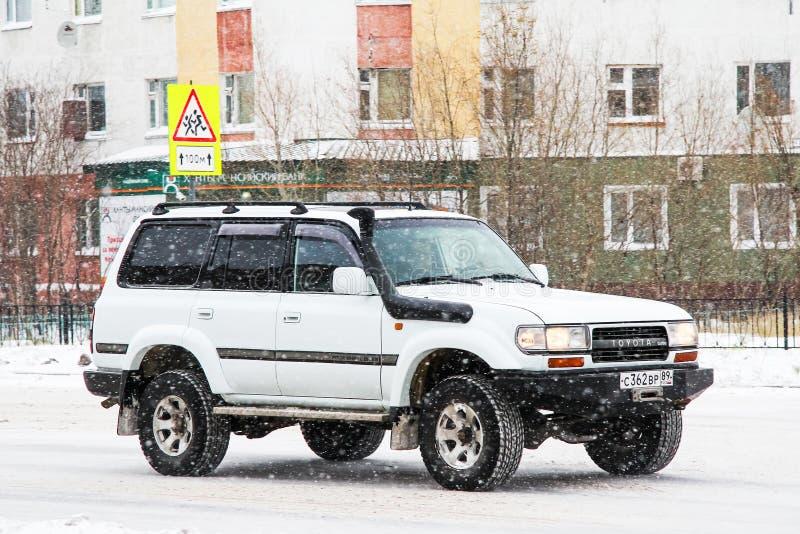 Toyota-Landkruiser 80 stock afbeeldingen