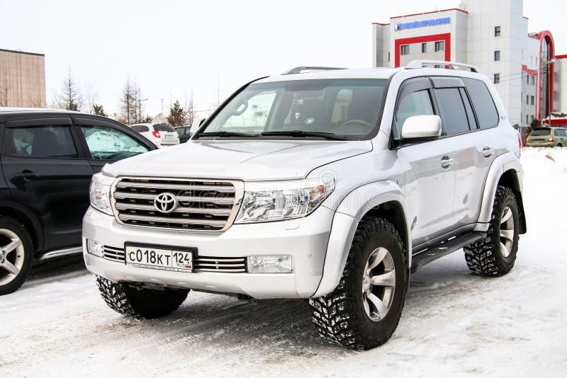 Toyota-Landkruiser 200 stock foto's