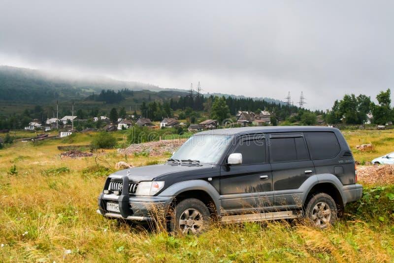 Toyota-Landkruiser Prado 90 royalty-vrije stock foto