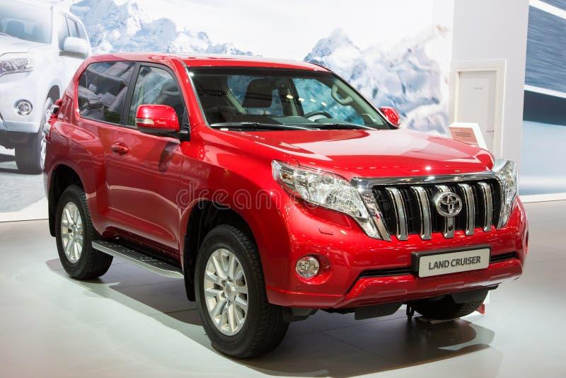 Toyota-Landkruiser Prado stock foto's