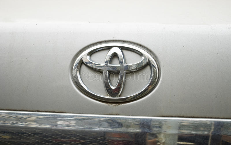 Download Toyota Logo Editorial Photography - Image: 16271147