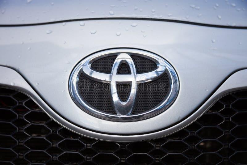Toyota-Logo stockbilder