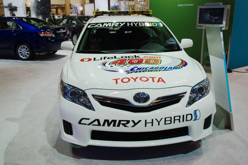 Toyota-Polizeiwagen stockfotos