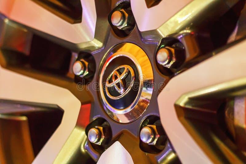 Toyota Prado royalty-vrije stock foto