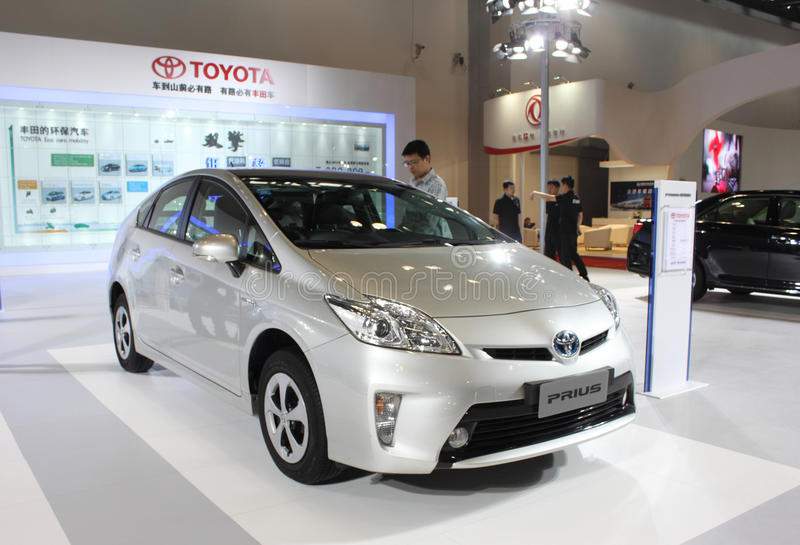 Toyota Prius fotos de stock royalty free