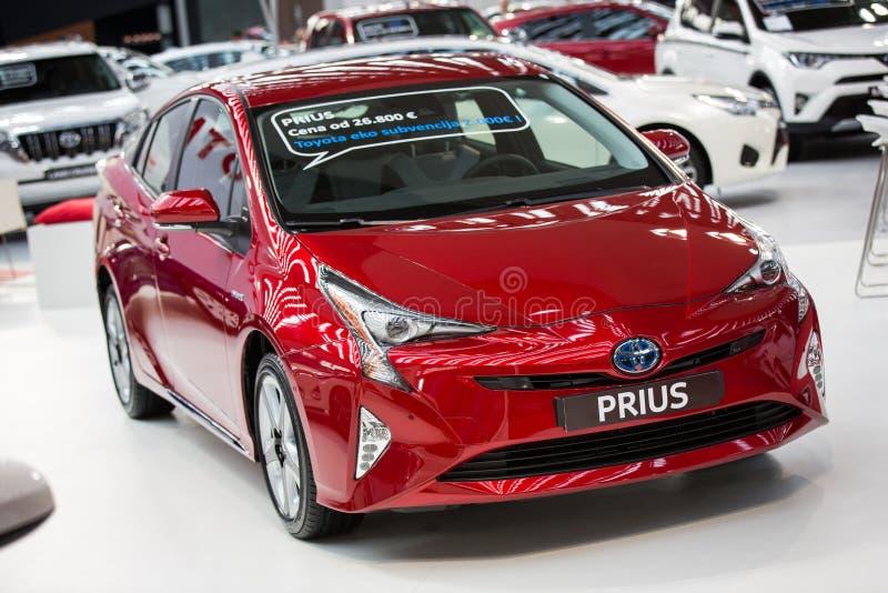 Toyota Prius royalty-vrije stock foto's
