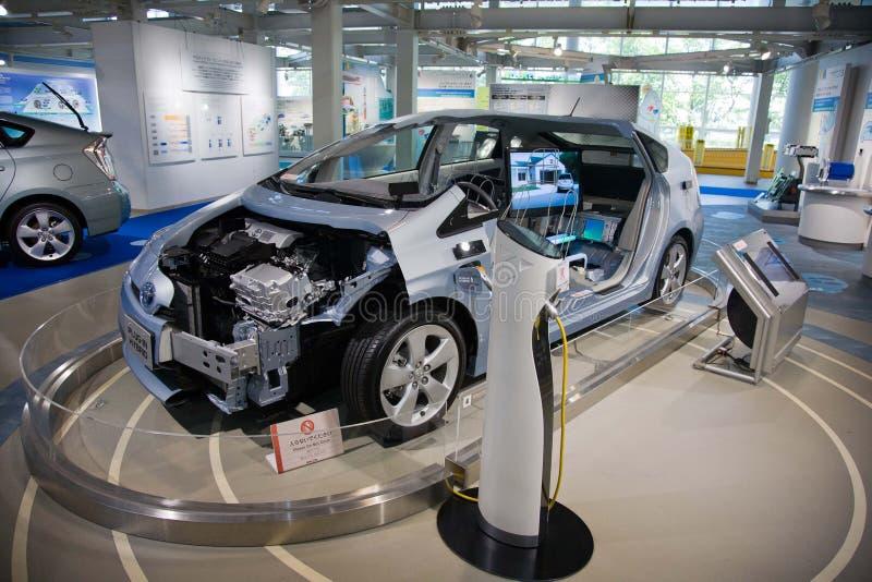 Toyota Prius 2017 toyota Electro coche japón fotografía de archivo