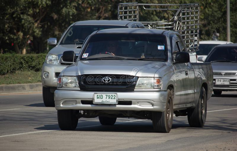 Toyota privado Hilux Tiger Pickup Truck foto de stock royalty free