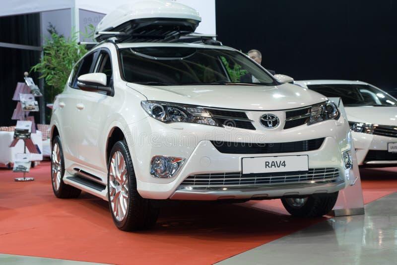 Toyota RAV 4 lizenzfreie stockfotos
