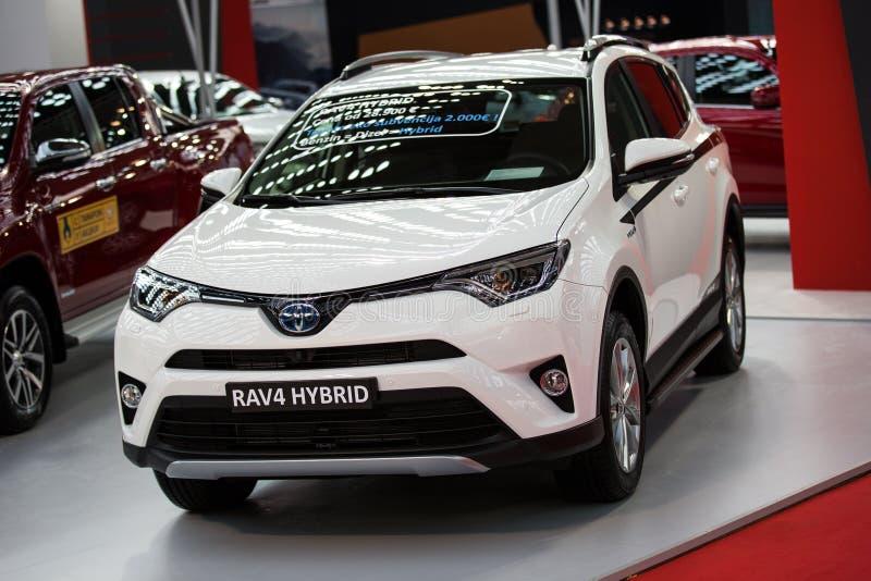 Toyota RAV4 obrazy royalty free