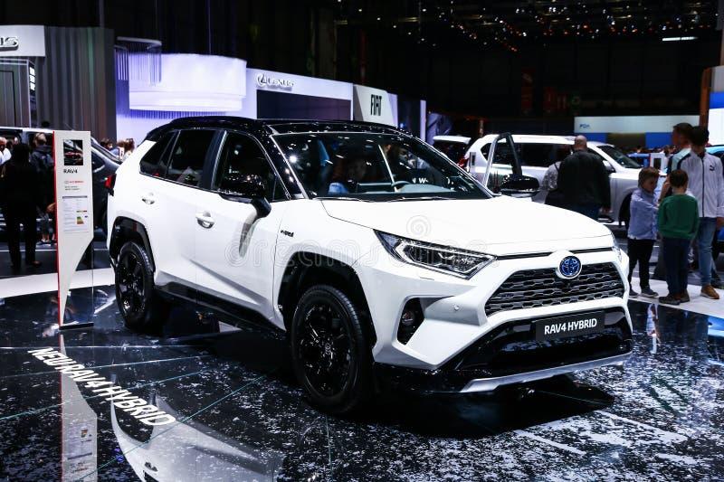 Toyota RAV4 obraz stock