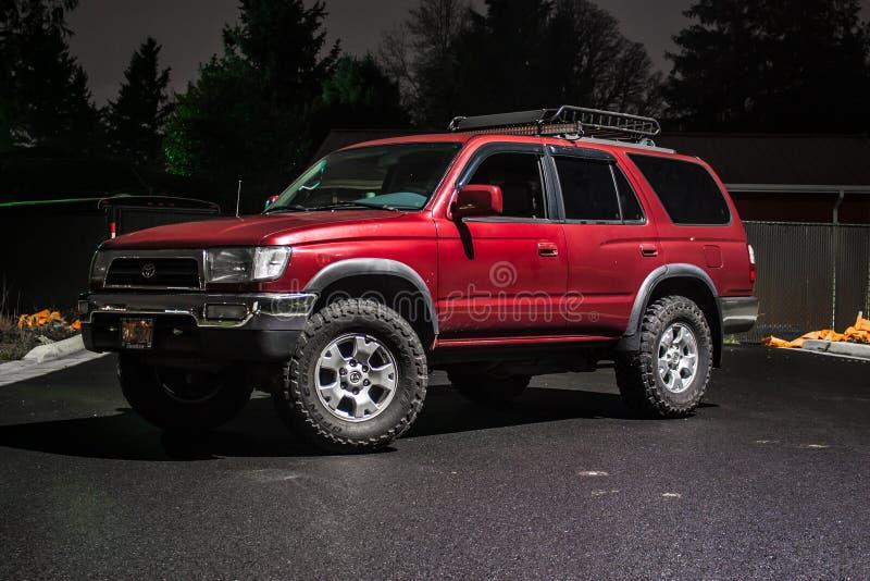 1996 Toyota 4Runner royalty-vrije stock afbeeldingen