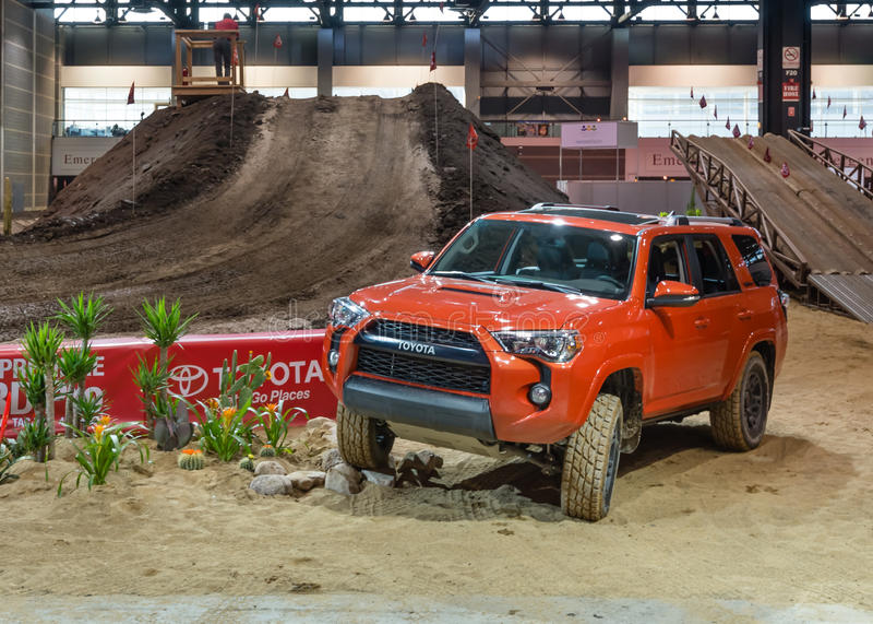 2014 Toyota 4Runner royalty-vrije stock foto's