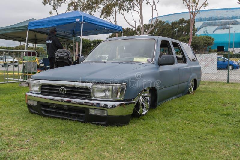 Toyota 4Runner 1992 op vertoning royalty-vrije stock fotografie