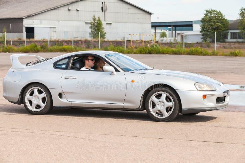 Toyota Supra SZ sportowy samochód obrazy royalty free