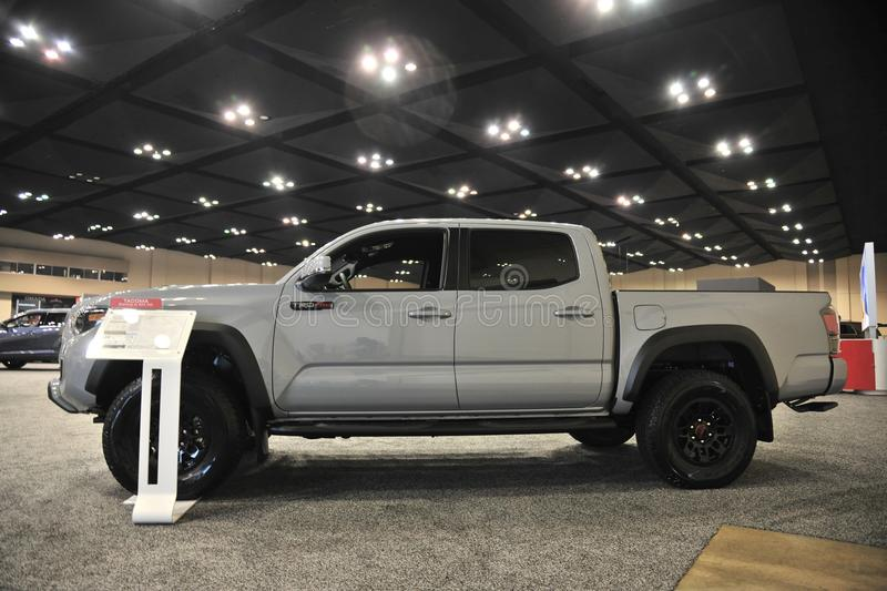 Toyota Tacoma Extended Cab Brand New royalty free stock photography