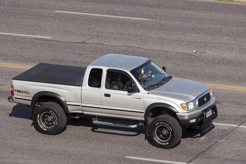 Toyota Tacoma TRD outre de route images stock