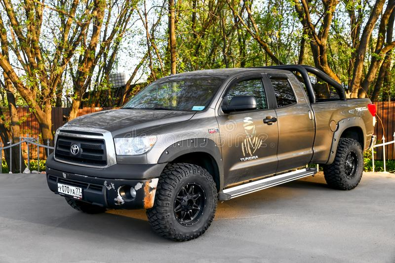 Toyota tundra obraz royalty free