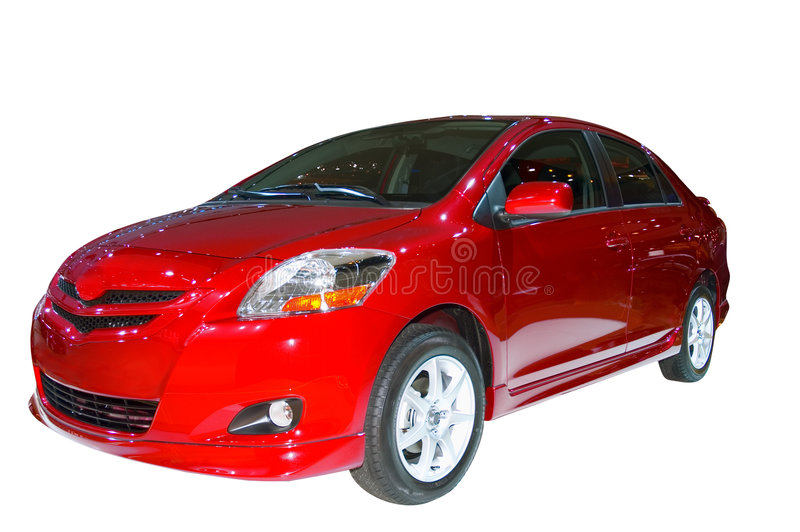 Toyota Yaris photo libre de droits