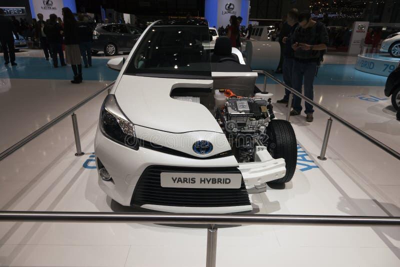 Toyota Yaris Hybrid stock photography