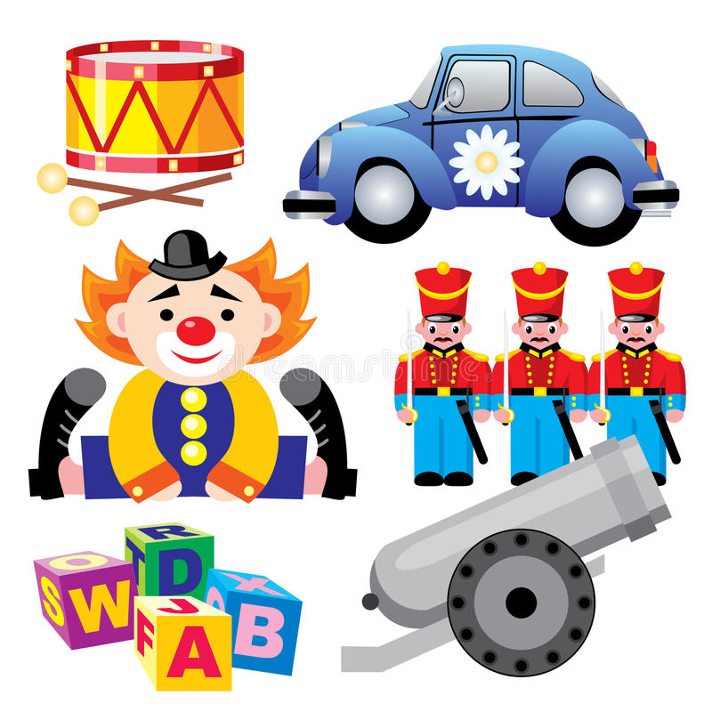 Download Toys stock vector. Image of knock, alphabet, teaching - 12998281