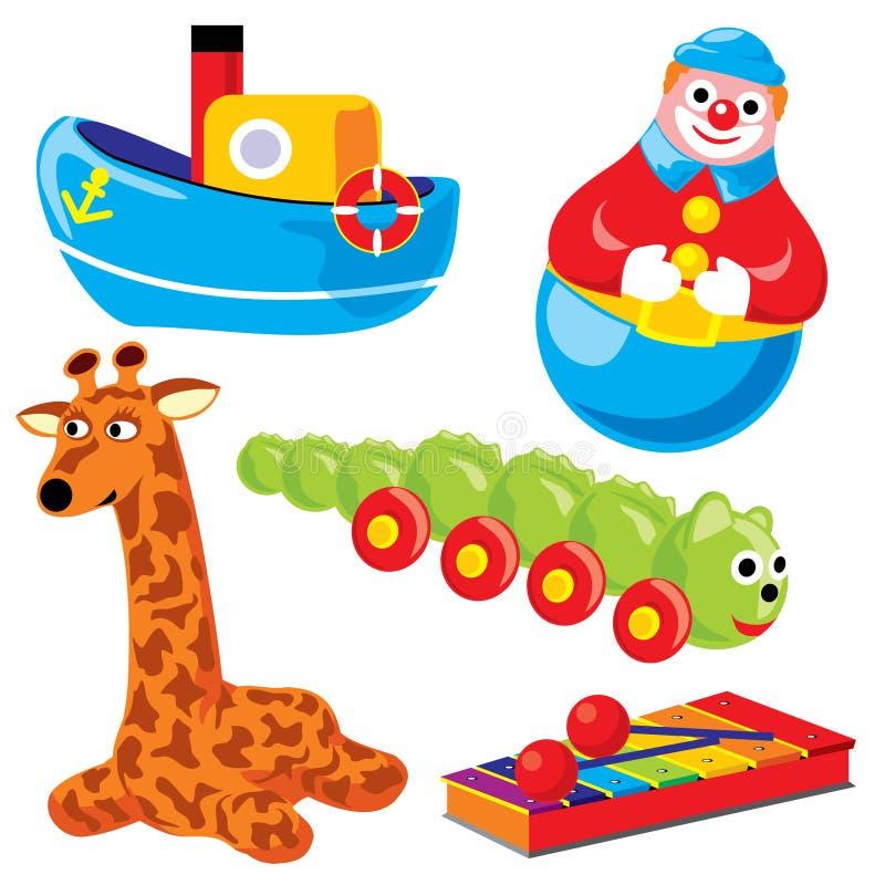 toys royaltyfri illustrationer