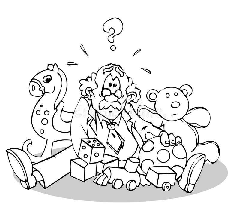 Download Toys stock illustration. Image of grandpa, grandfather - 1787383