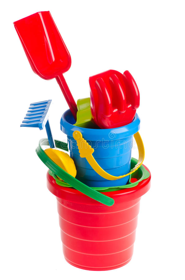 Download Toys stock image. Image of assortment, bucket, collage - 24373499