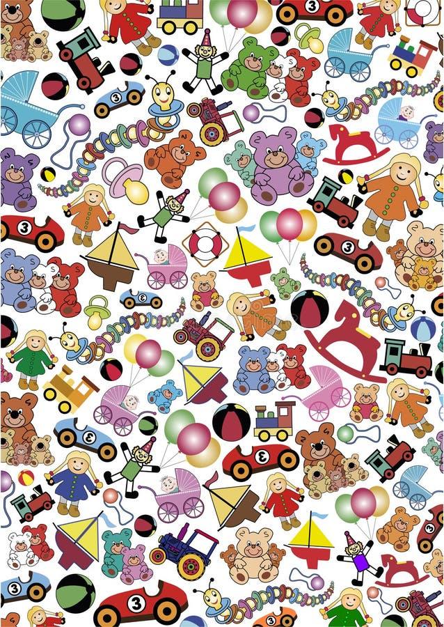 Free Toys Background Royalty Free Stock Photos - 22183798
