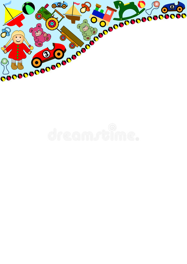 Toys background royalty free stock images