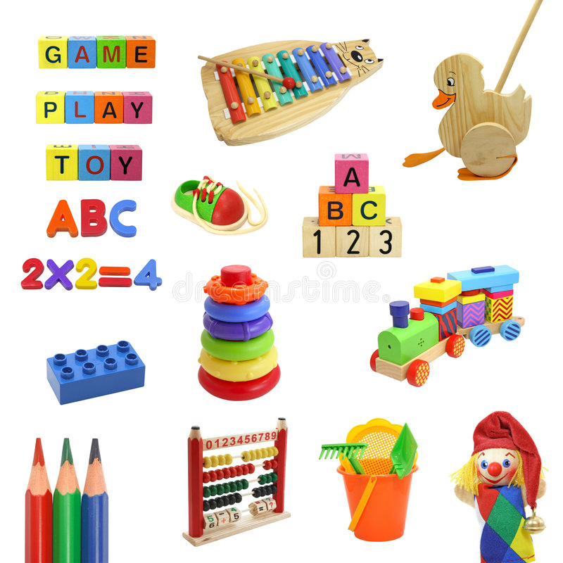 Free Toys Collection Stock Image - 4620981