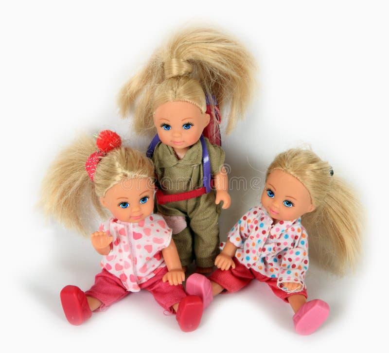 Toys dolls royalty free stock photo