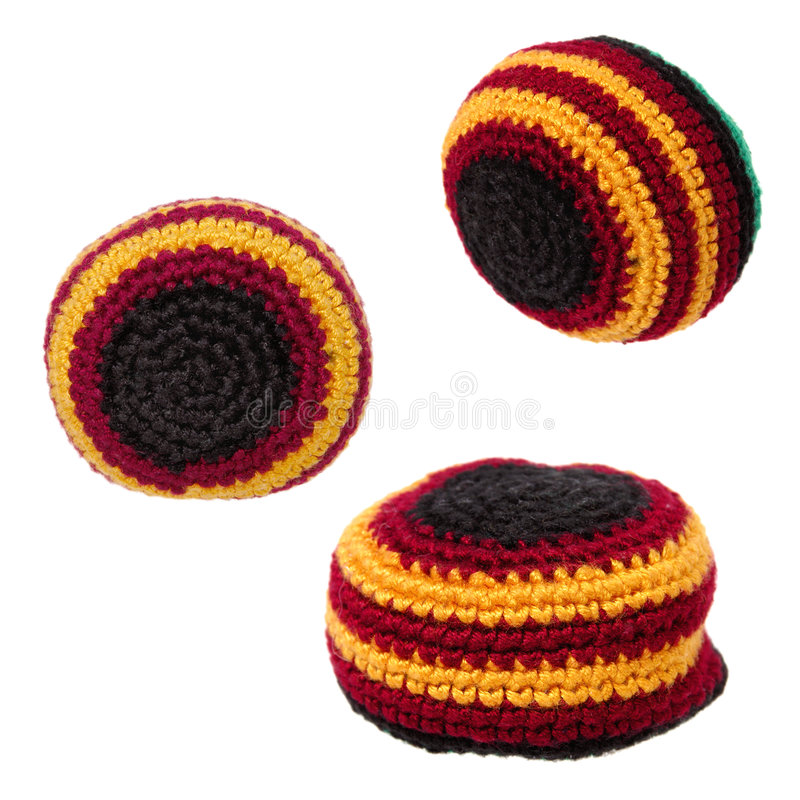 Download Toys: Hacky Sack Or Footbag Trio (2 O 2) Stock Photo - Image of hack, woven: 30074