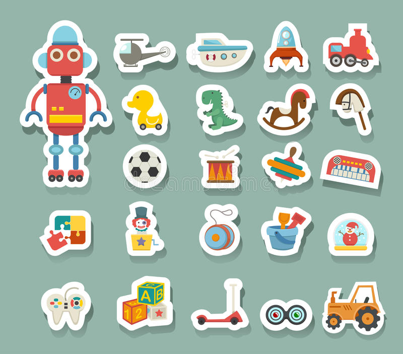 Toys icon vector illustration